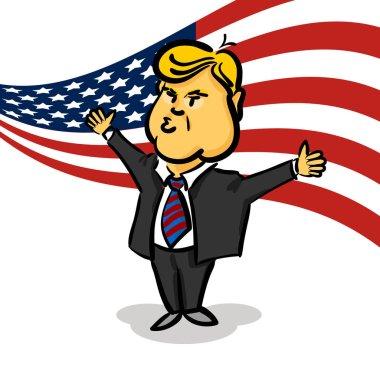 January 10, 2017 Donald Trump thumb up