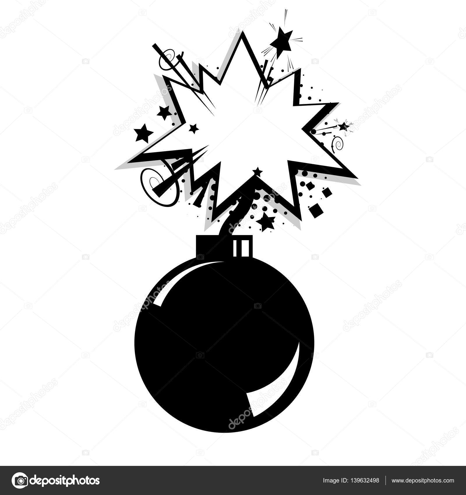 blank bomb template comic speech cloud bubble stock vector helen