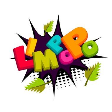 Lettering funny comic  prank Limpopo