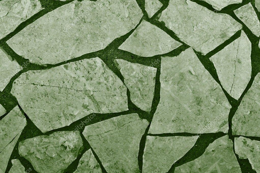 Piso de baldosas de piedra natural de color verde foto - Baldosas piedra natural ...