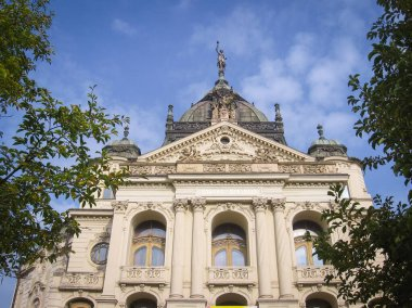 Kosice, Slovakia: The State Theatre in a Neo-baroque style