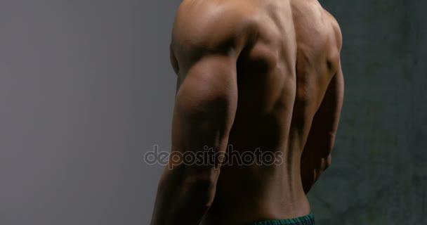 Zádové svaly tělo stavitel 2