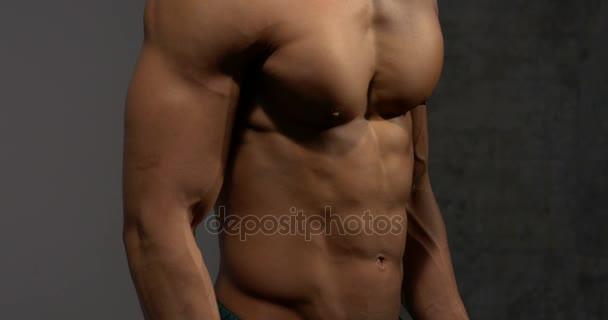 Hrudník a břicho Fitness Model 2