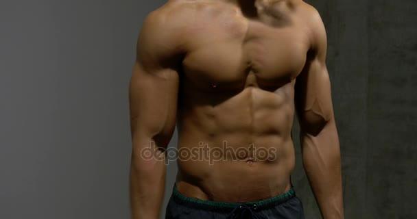 Reliéfní trupu tělo stavitel z přední 2