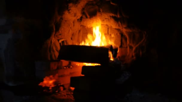 Fire Burning in a Smiths Forge