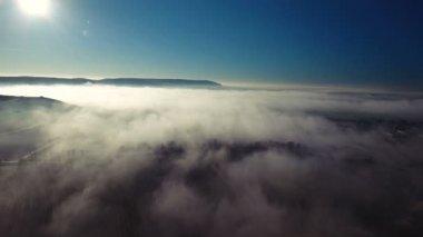 Picturesque Austrian Landscape From a Bird's Eye View