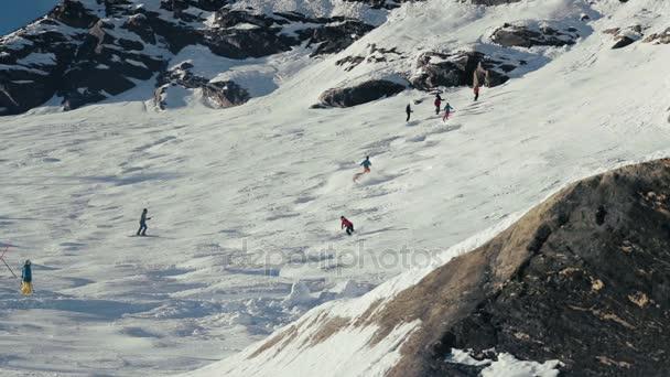 Ski Alpin in der Ferne