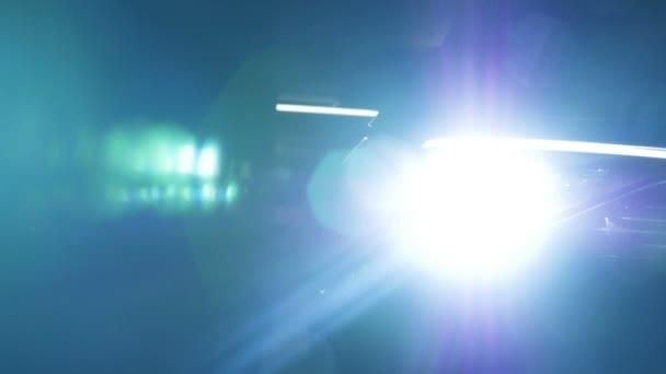 Rýžování na oslepující světlo auta