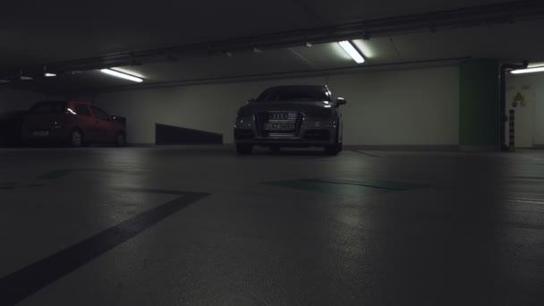 Reflektory auto Flash a sviť jako se kamera pohybuje vpřed
