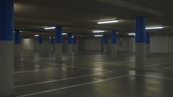 Underground Parking Lot Drive