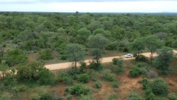 Dél-afrikai Savanna Aerial a Horizon-nal