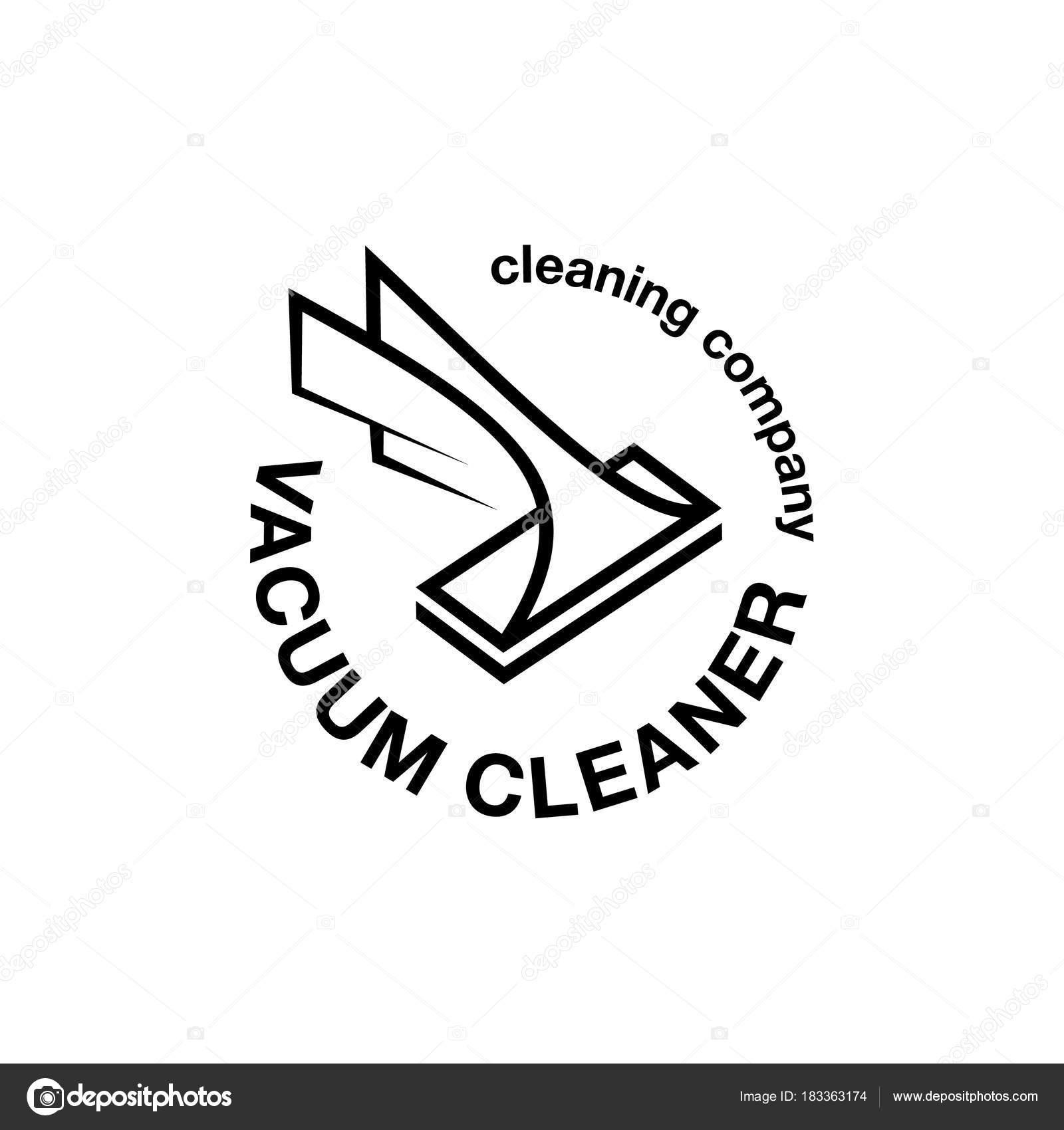 Modele De Logo Pour La Carte Visite Identite Marque Et Entreprise Nettoyage Illustration Stock