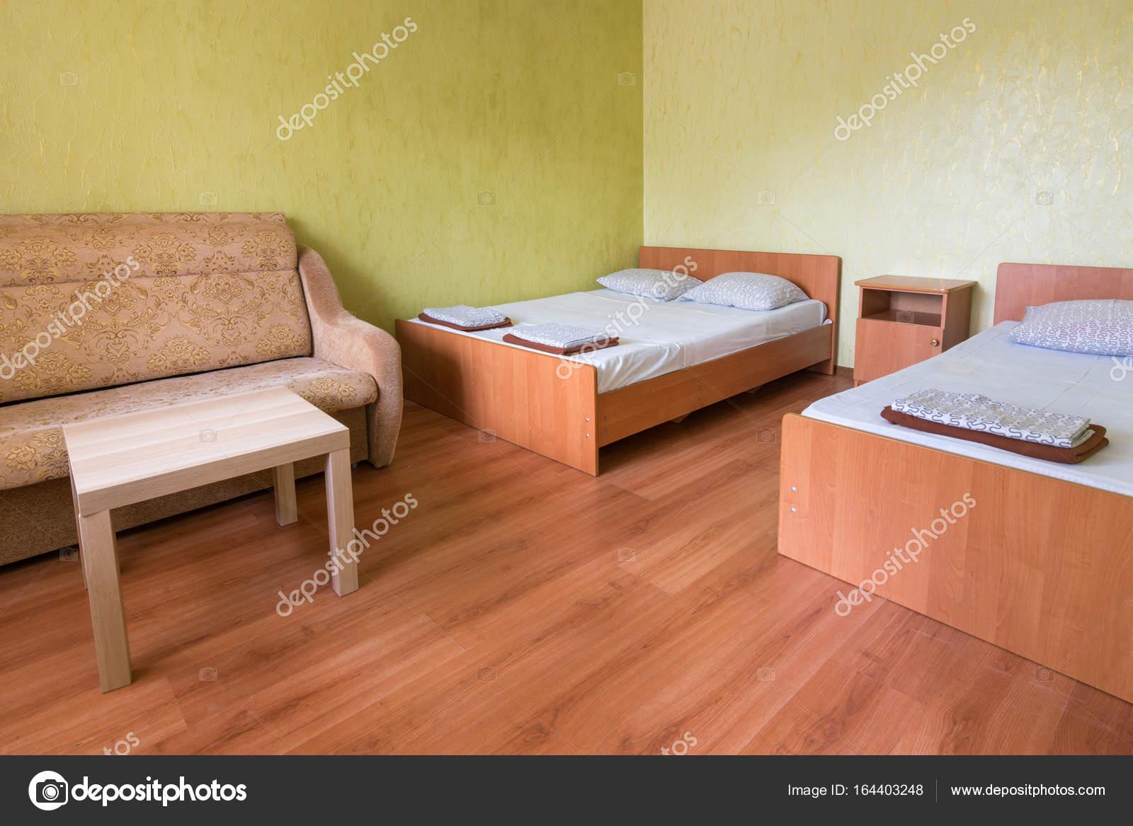 Interior Do Quarto De Hotel De Luxo Com Duas Camas Fotografias  ~ Quarto Com Duas Camas Com Mansões De Luxo Quarto
