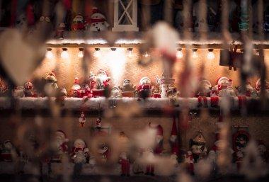 Noel pazarı, Manchester festivali gecesi, kış tatili süslemeleri, çocuklar, çocuklar.