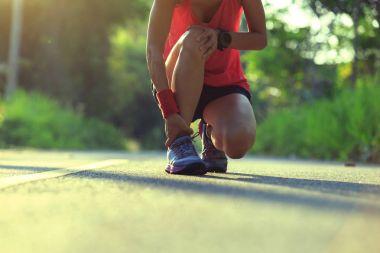 runner got sports injury