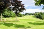 Fotografie Grünen Golfplatz im Alexandra Park in Glasgow, Schottland, Vereinigtes Königreich