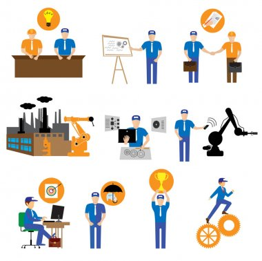 business plan icons
