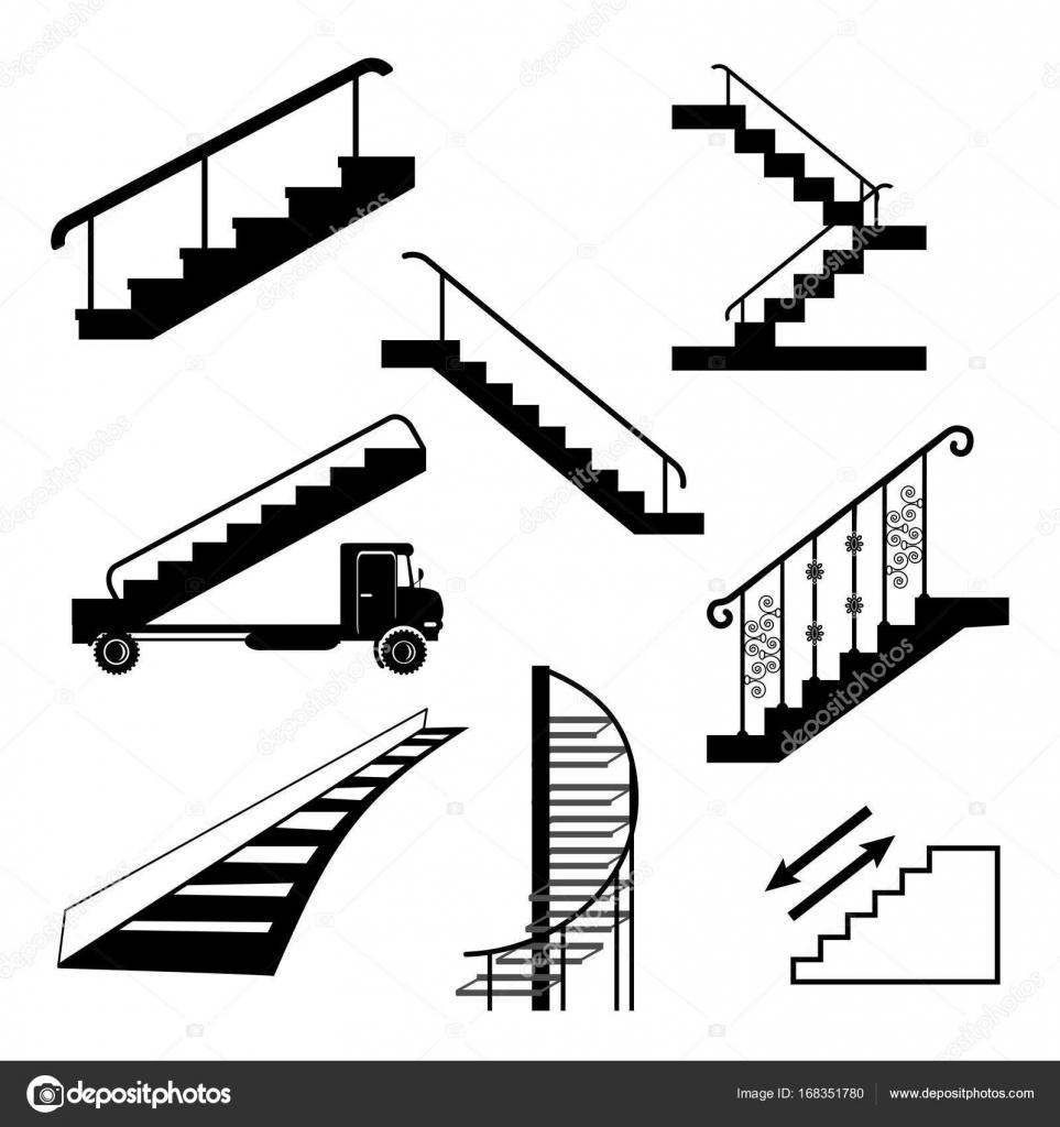 Different Types Of Staircases: Diferentes Tipos De Escaleras