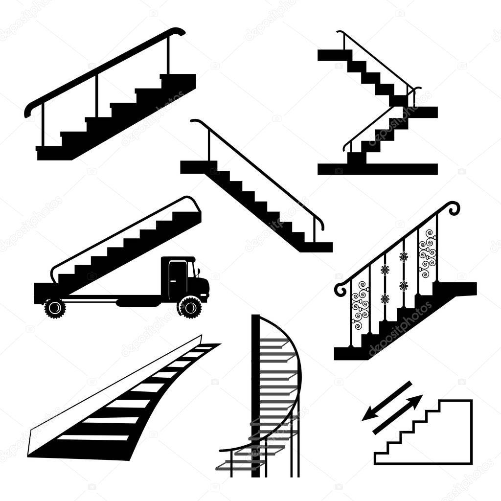 Diversi tipi di scale vettoriali stock krylovochka - Diversi tipi di trecce ...