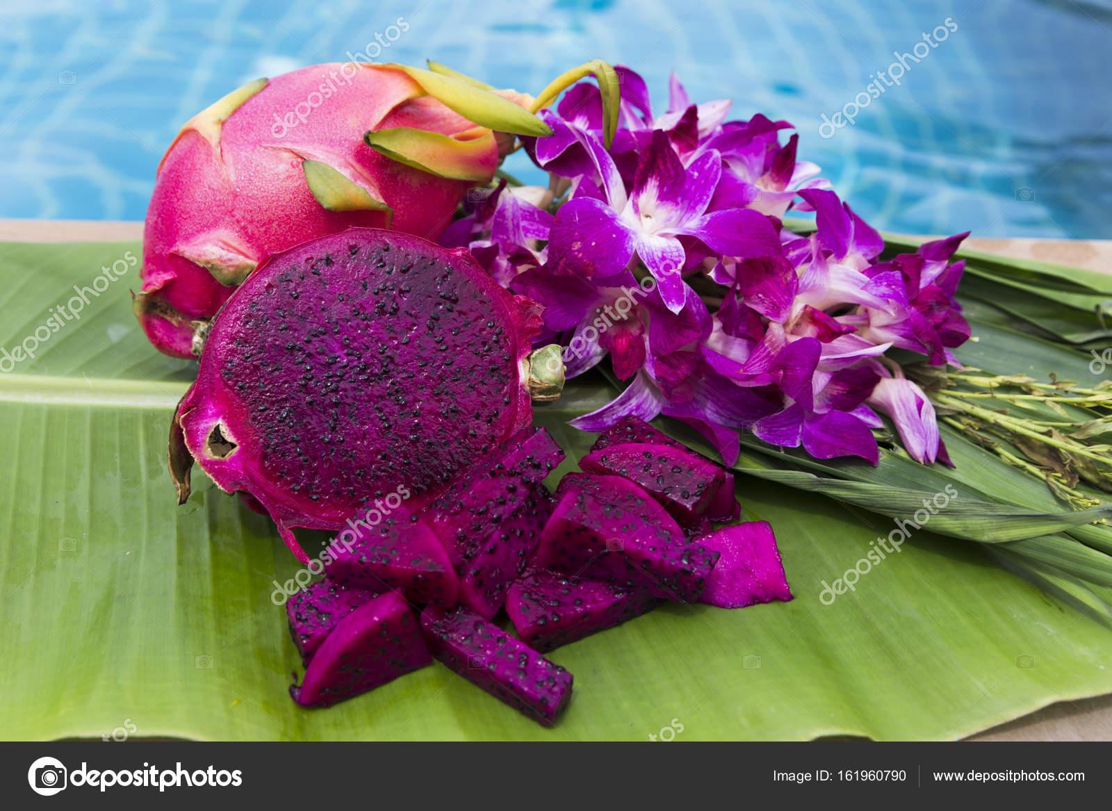 Pink Dragon Fruit Sweet And Juicy Stock Photo Zhykova 161960790