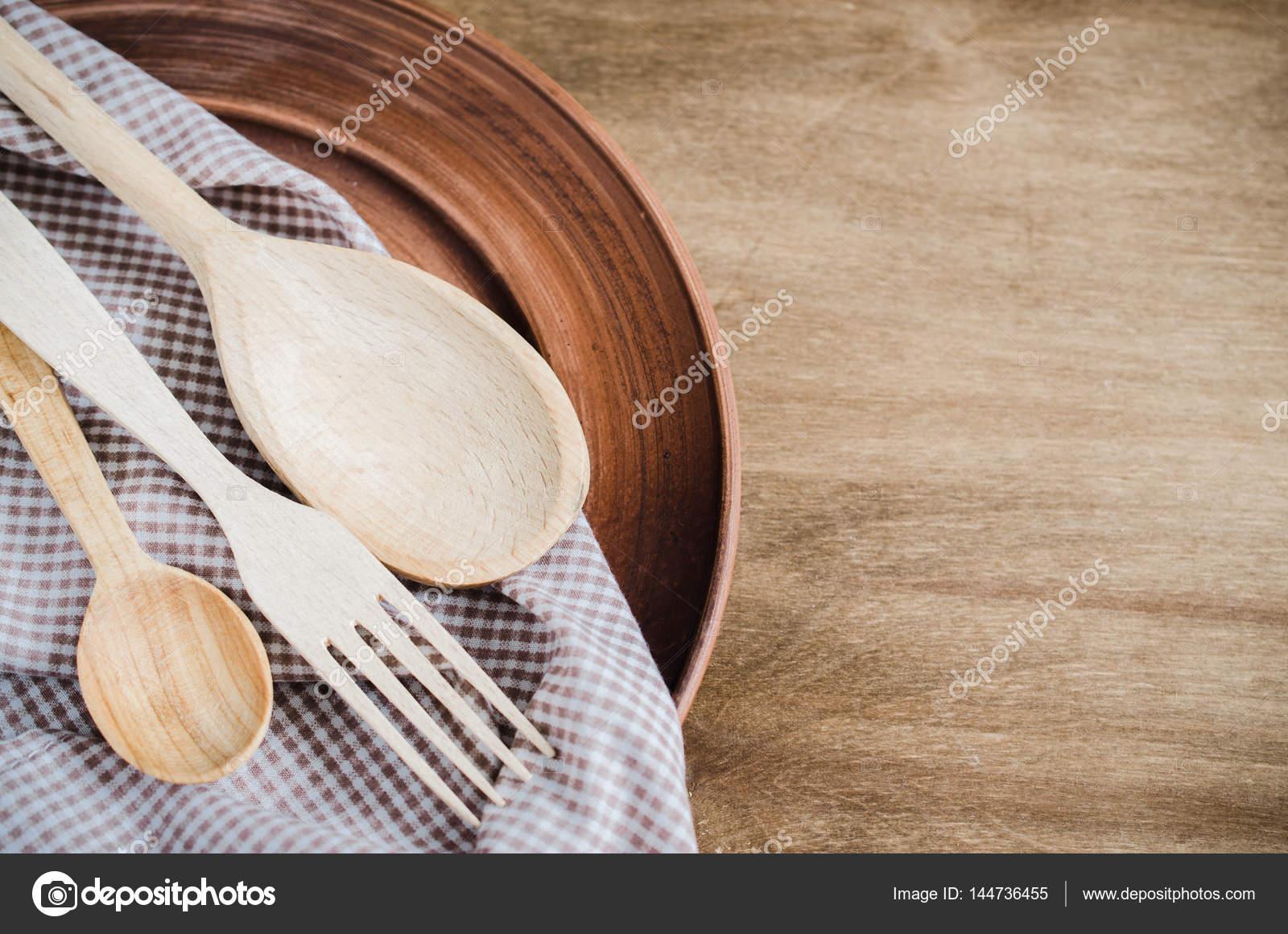 Utensili da cucina rustica. Prodotti per la casa — Foto Stock ...