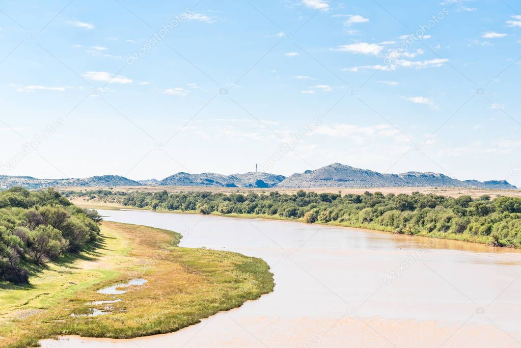 Gariep River (Orange River) between Philippolis and Colesberg