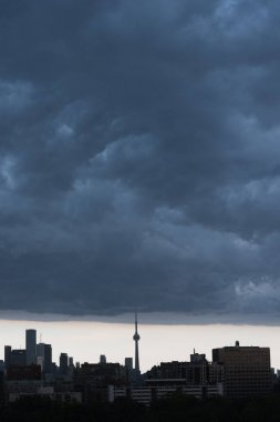 Rain storm over Toronto