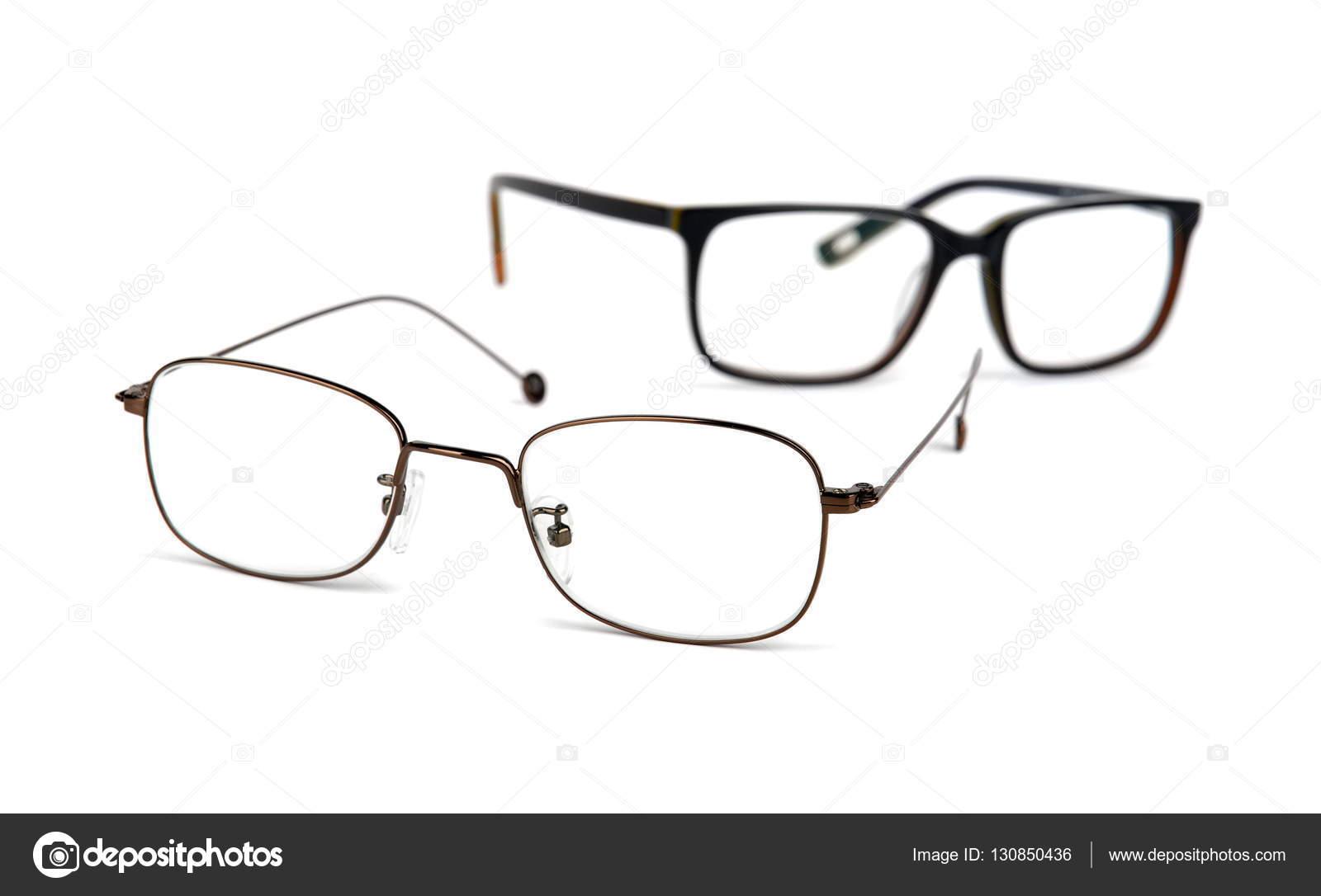 c34f86f7e9266e Brillen auf weißem Hintergrund — Stockfoto © J-Aleks  130850436