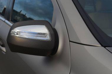 Car Wrap with carbon foil