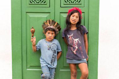 Brazilian Indian children