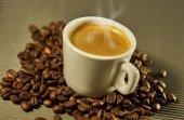 Fotografie Delicious hot coffee