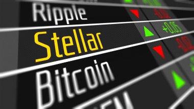 Stellar Crypto Currency Market