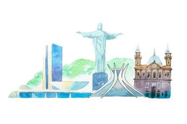 Famous Brazil landmarks