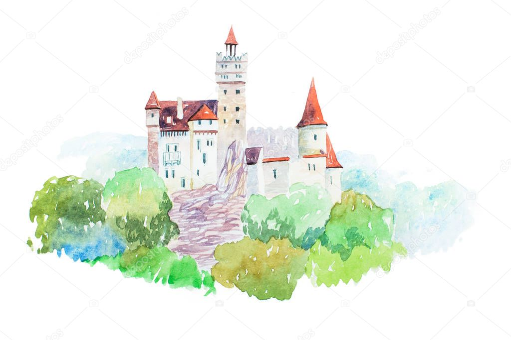 Dracula medieval Castle