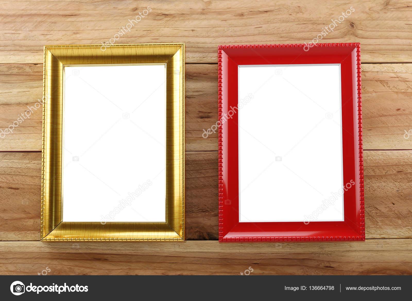 Vintage Fotorahmen Holz Hintergrund — Stockfoto © meepoohyaphoto ...