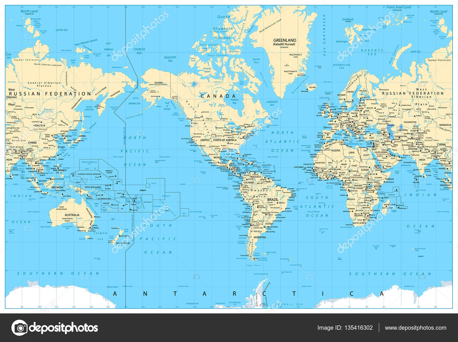 America centered world map stock vector livenart 135416302 america centered world map stock vector gumiabroncs Image collections