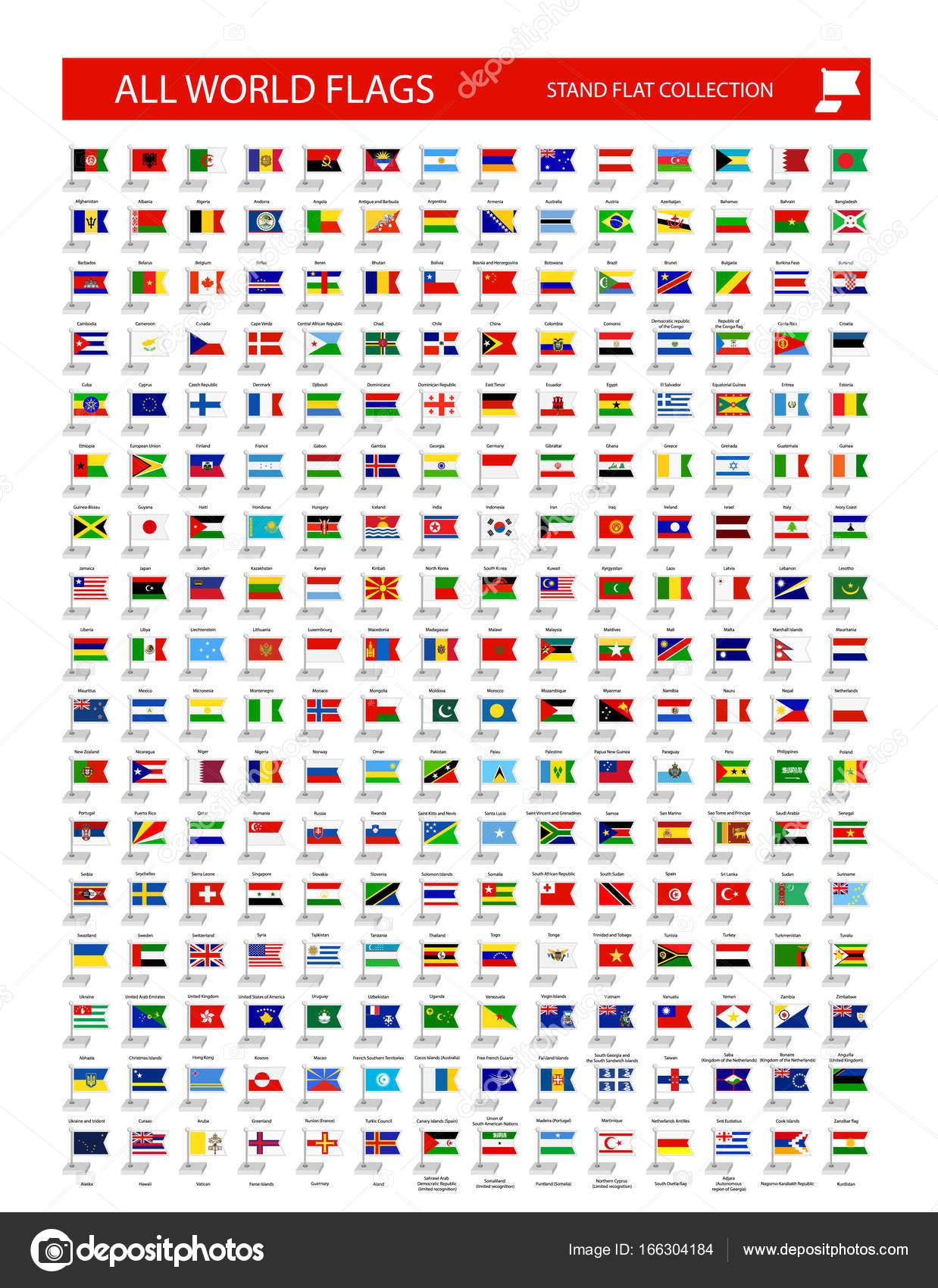 alle länderflaggen