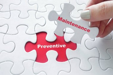 Puzzle with word:Preventive Maintenance