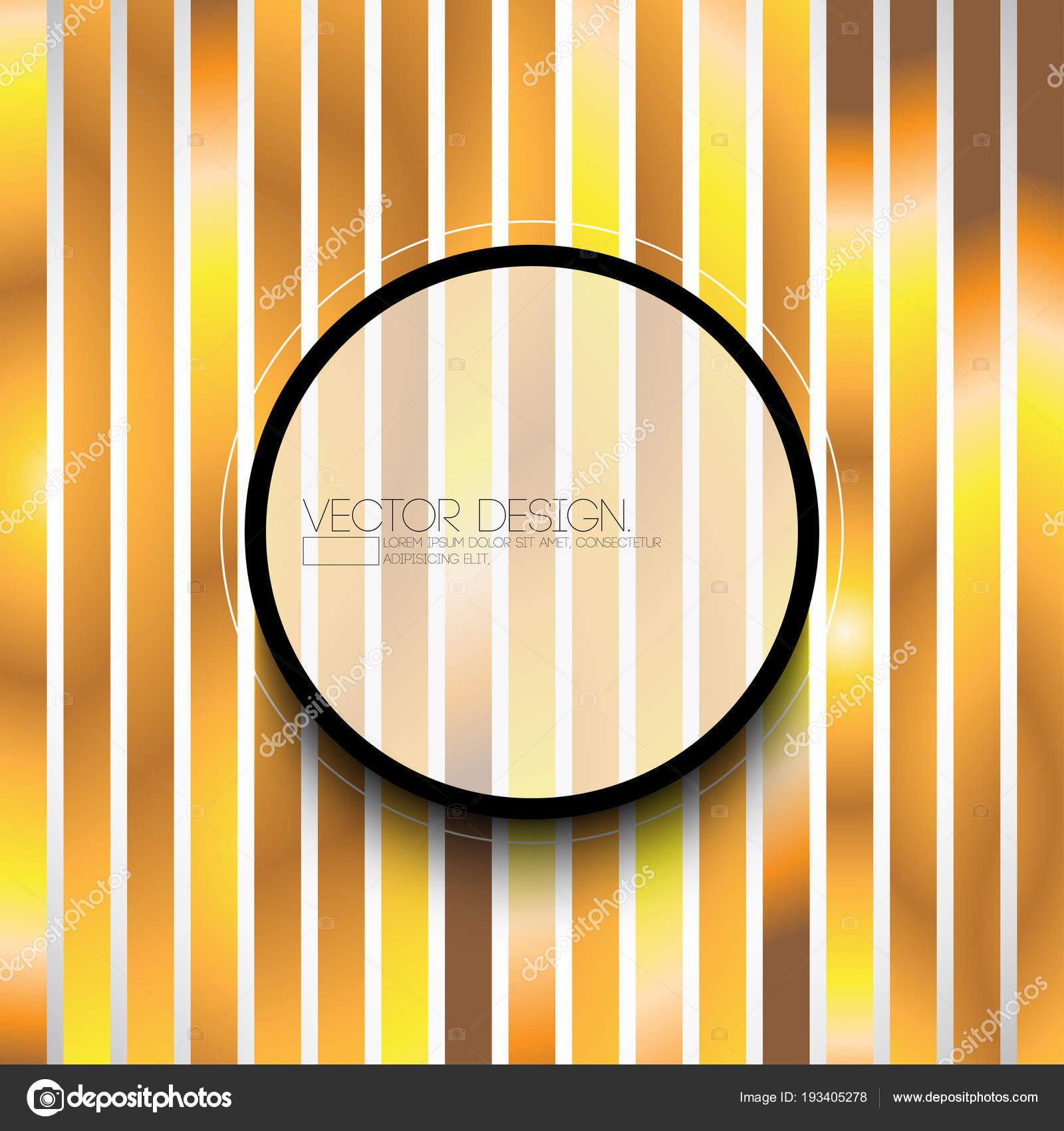 Marco Redondo Stripe Diseño Fondo Metálico — Archivo Imágenes ...