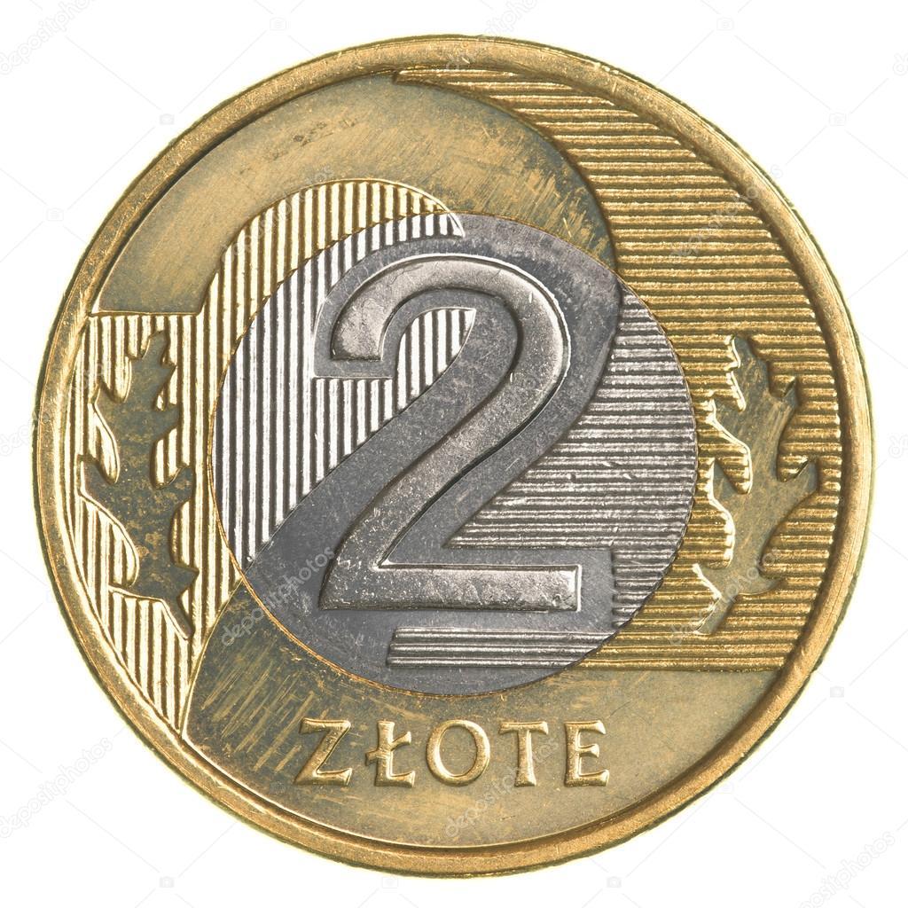 Two Polish Zloty Coin Stock Photo Asafeliason 127652008