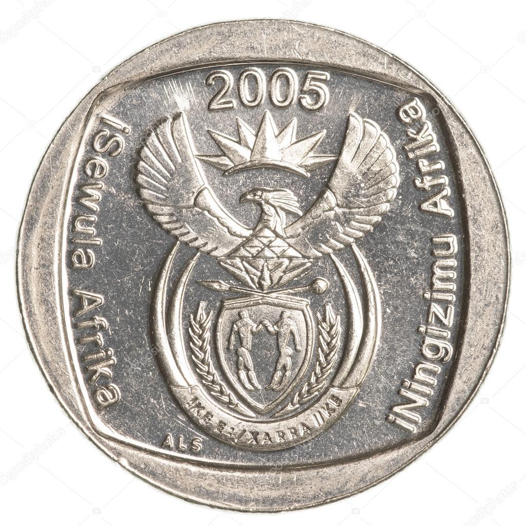 piece de monnaie 5 rand