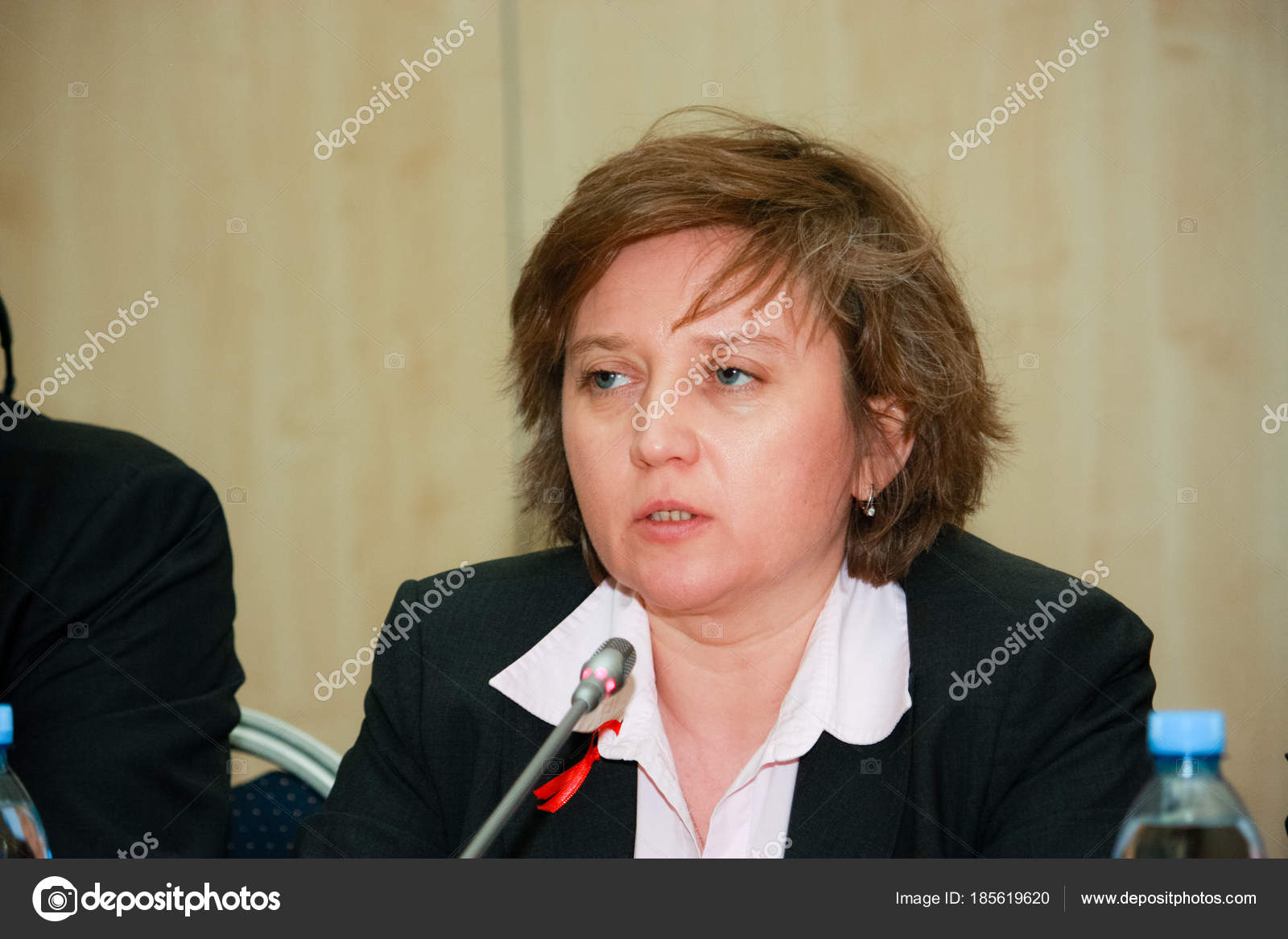 MOSCOW, RUSSIA - APRIL 24, 2016: SAP Russia CEO Natalia Parmenova
