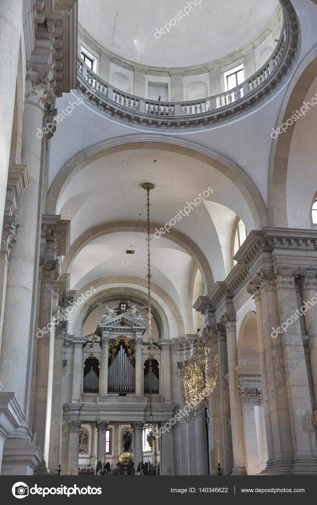 Interno Della Chiesa Di San Giorgio Maggiore A Venezia Italia