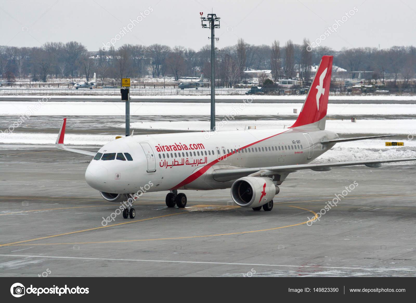 Aeroporto Kiev : Avião da arábia ar em boryspil aeroporto kiev ucr nia