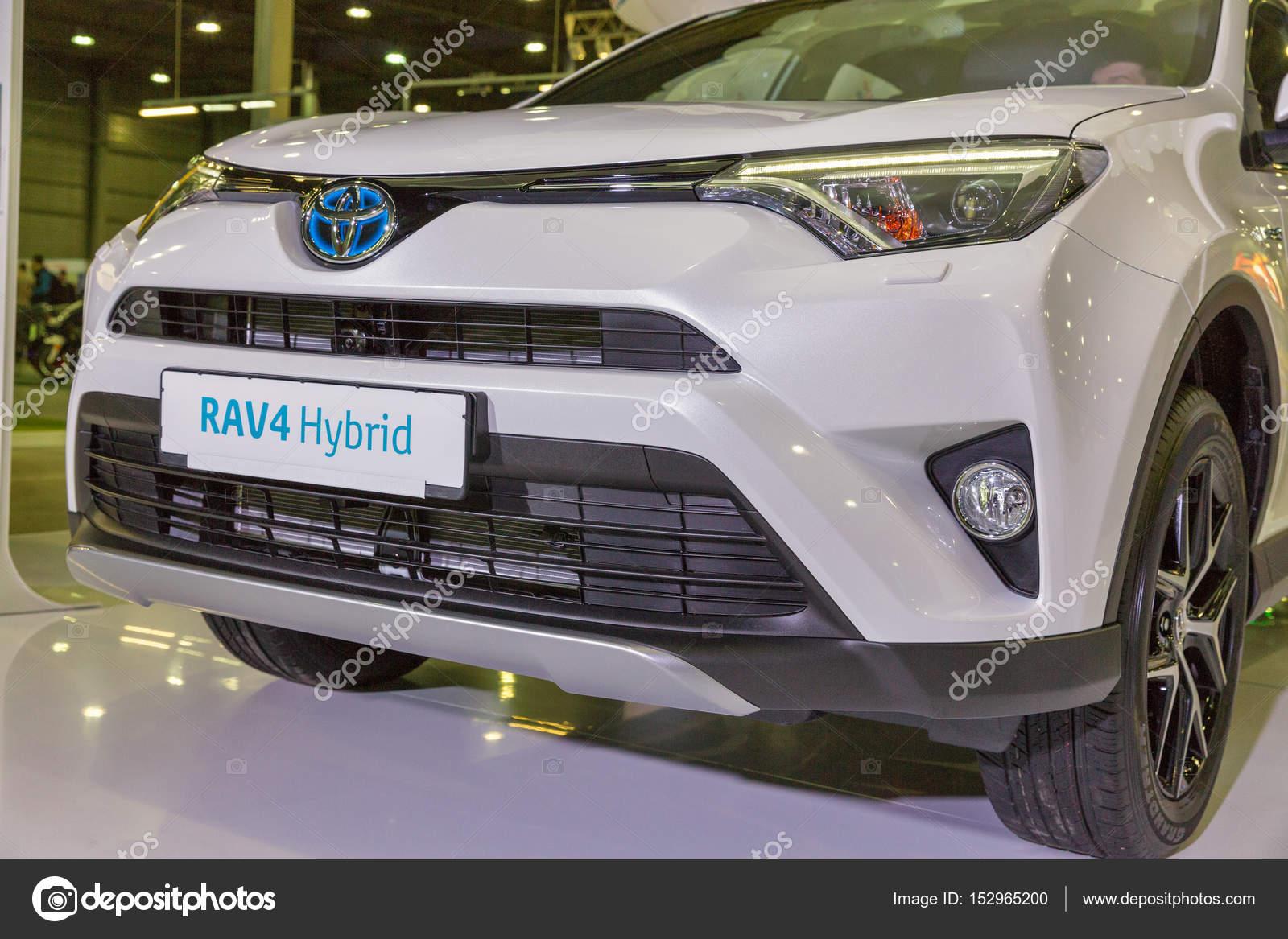 Toyota Hybride Auto Stand Op Kiev Plug In Oekraine 2017