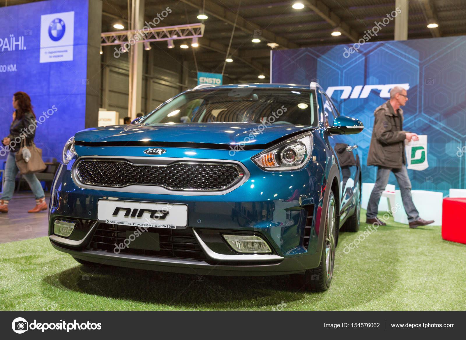 Kia Niro Hybride Auto Stand Kiev Plug In Oekraine 2017