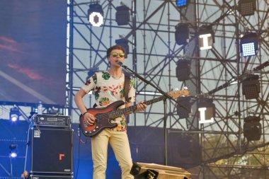 VV rock band performs at Atlas Weekend festival. Kiev, Ukraine.
