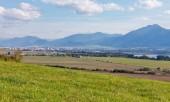 Fotografie Letní hory nedaleko města Liptovský Mikuláš, Slovensko
