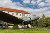 Fotografie Letadlo Li-2 na otevření letecké muzeum Snp Banská Bystrica, Slovensko