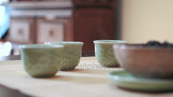 Horký čaj poháry